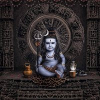 Har Har Mahadev - Indian God Shiva Childhood Images with Special Effects